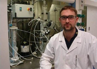 """Heidolph Distimatic """"makes large scale solvent evaporation easy and saves money"""" says the University of Bristol"""