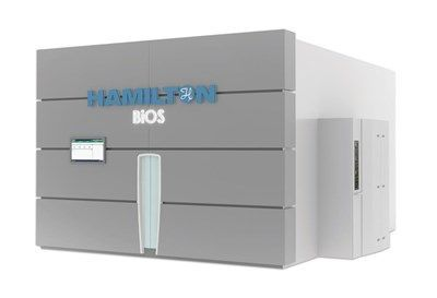 Hamilton Launches Compact BiOS Automated SystemsThat Store 100K to More Than 1MM Samples