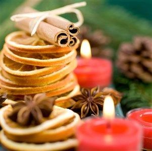 Extracting the Scents & Smells of Christmas