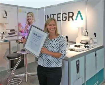 INTEGRA celebrates success with the ASSIST PLUS at MipTec 2018