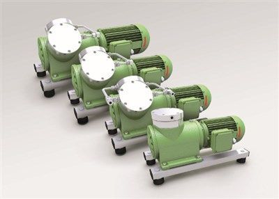 KNF Launches a Series of Four New Vacuum/Compressor Pumps  for Industrial Applications