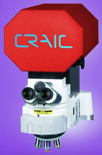 Raman Microspectroscopy, Colorimetry and Intensity Mapping of Large Displays With Microscopic Spatial Resolution -A Novel Solution from CRAIC Technologies