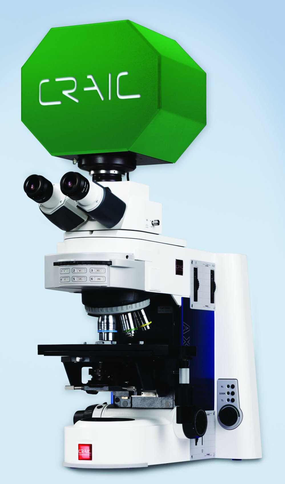 The 508 PV UV-visible-NIR Spectrophotometer for Your Microscope