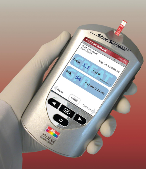 Nova POC Creatinine/eGFR Method More Accurate Than Laboratory Method: Large Medical Center Study