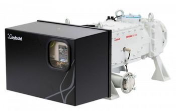 Leybold presents dry screw vacuum pumps DRYVAC DV 500 and DV 800