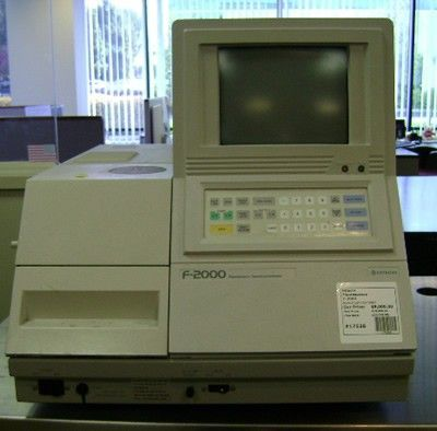 Hitachi Medical Systems - Fluorescence F-2000