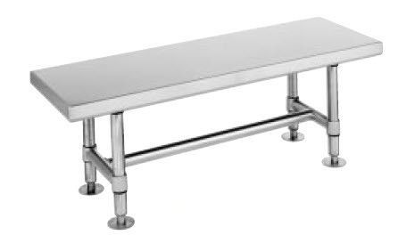 Metro - Stainless Steel Gowning Bench