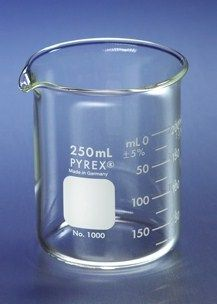 Qorpak - PYREX® Low Form Graduated Griffin Beakers