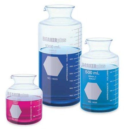 Kimble Chase - BEAKERplus™ Combination Beaker and Flask, Graduated with Pour Spouts