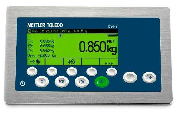 METTLER TOLEDO - ICS449