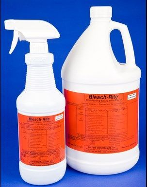 Current Technologies - BLEACH-RITE DISINFECTING SPRAY