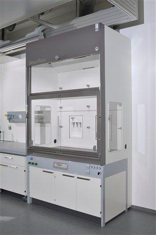 WALDNER - Secuflow bench-mounted fume cupboard