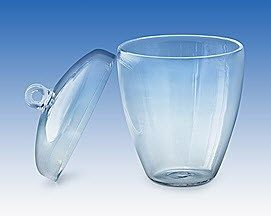 Technical Glass Products - CRUCLIBLES WITH LIDS