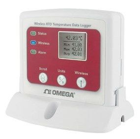 Omega Medical - Wireless RTD Temperature Data Logger with Display