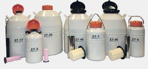 MVE Cryogenics - ET Series