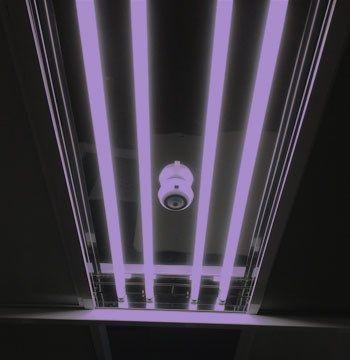 Terra Universal - Germicidal UV-C Lamp and Fixture