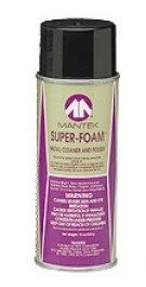 NuAire - Super Foam Stainless Steel Cleaner