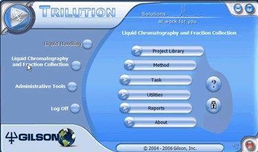 Gilson - TRILUTION LC Software