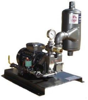 US Vacuum Pumps - LRW/NC Series Water Sealed System