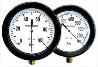 US Vacuum Pumps - Dial TORR Gauges
