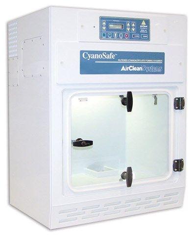 AirClean® Systems - Mini CyanoSafe™ Cyanoacrylate Fuming Chamber