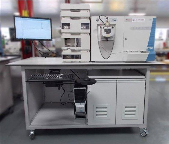 GenTech Scientific - Mass Spec Workbench with Mass Spec Double QuietBox II