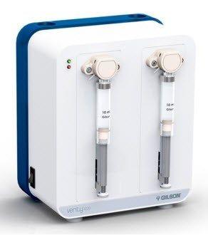 Gilson - VERITY® 4X20 Single, Dual, and Dual with Tee Syringe Pumps