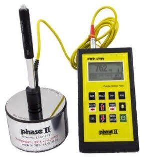 Phase II - Portable Hardness Tester with G Impact Device
