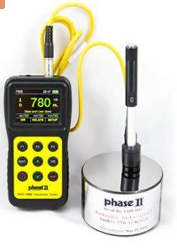 Phase II - Portable Hardness Tester with Color Screen