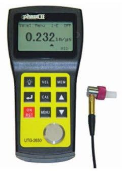 Phase II - Ultrasonic Thickness Gauge w/ High Resolution