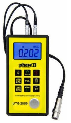 Phase II - Metal Body Ultrasonic Thickness Gauge