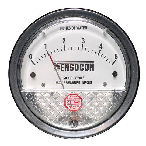 Sensocon - Differential Pressure Gauge - Series S2000