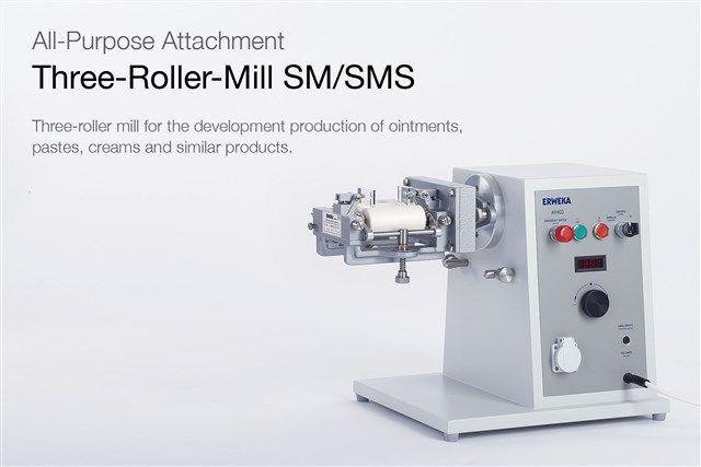 ERWEKA - Three-Roller-Mill SM/SMS