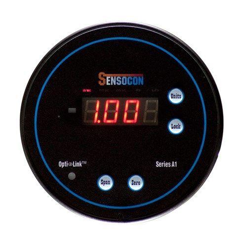 Sensocon - Digital Differential Pressure Gauge - Series A1