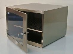 Cleatech - Single Door 304 Stainless Steel Desiccator