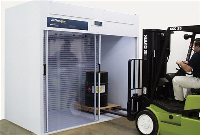 AirClean® Systems - Walk-In Free-Standing Ductless Enclosure