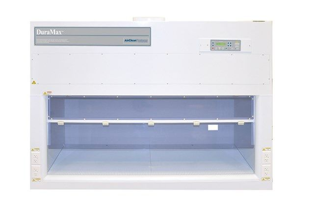 AirClean® Systems - DuraMax  HEPA-Filtered Vertical Laminar Flow Fume Hood