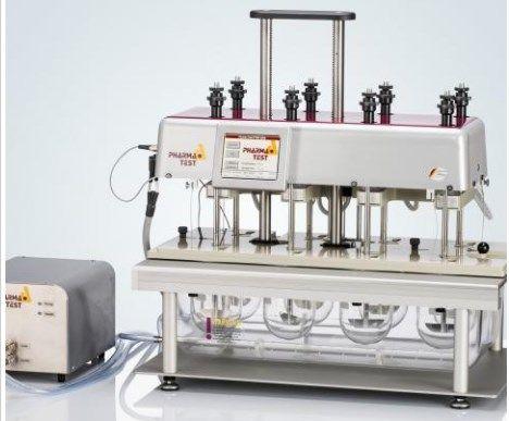 Pharmatest USA - PTWS 820D 8 Vessel Dissolution Apparatus
