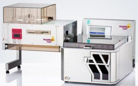 Pharmatest USA - WHT 3ME Fully Automated Weight, Thickness and Hardness Tester