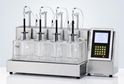 Pharmatest USA - PTZAutoEZ Series - Fully Automated Detection Disintegration Testers