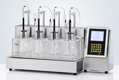 Pharmatest USA - PTZAutoEZ Series - Fully Automated Detection Disintegration Testers