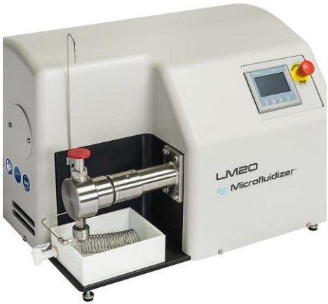 Microfluidics - Lab Scale Microfluidizers
