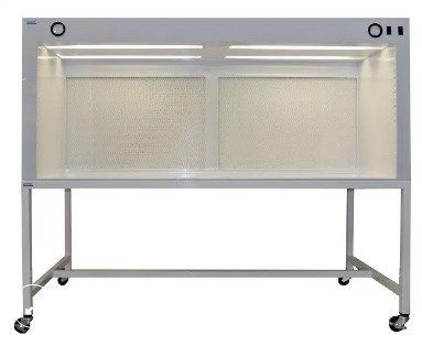 Cleatech - 6 Feet Horizontal Laminar Flow Hood Clean Bench with Stand