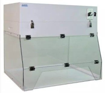 Cleatech - 24 in. Ductless Exhaust Fume Hood Portable AR Polycarbonate
