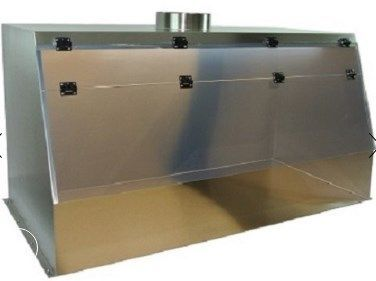 Cleatech - 24 in. Laboratory Fume Hood Stainless Steel