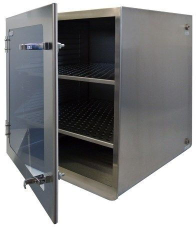Cleatech - One Door Stainless Steel Desiccator Dry Storage Cabinet 20x20x22