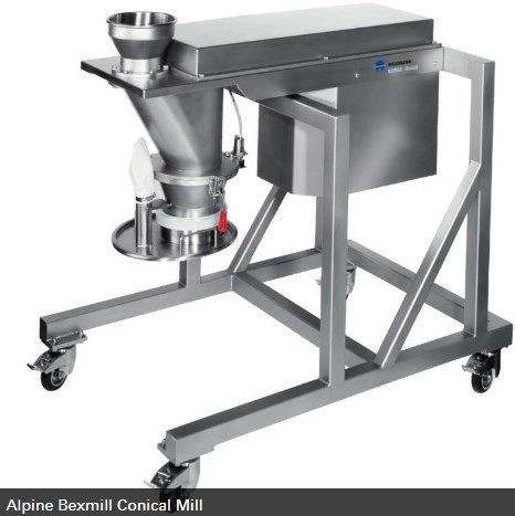 Hosokawa Micron Powder Systems - ALPINE BEXMILL CONICAL MILL