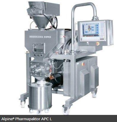 Hosokawa Micron Powder Systems - ALPINE PHARMAPAKTOR APC L