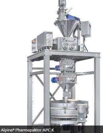 Hosokawa Micron Powder Systems - ALPINE PHARMAPAKTOR APC K