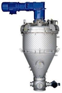 Hosokawa Micron Powder Systems - VRIECO-NAUTA CONICAL PADDLE DRYER